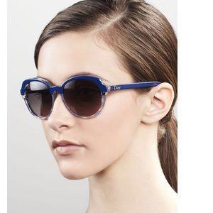 Dior Croisette 3/S Blue Gold Trim Sunglasses